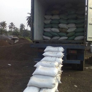 pks with bags loading